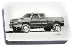 2006 Chevy Silverado 2500 Hd Portable Battery Charger by Sarah Batalka