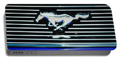 2007 Ford Mustang Grille Emblem Portable Battery Charger