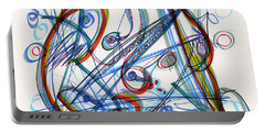 2013 Abstract Drawing #12 Portable Battery Charger