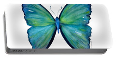 21 Blue Aega Butterfly Portable Battery Charger