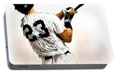 23   Don Mattingly  Portable Battery Charger by Iconic Images Art Gallery David Pucciarelli