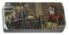 Thomas Nast Santa Claus Portable Battery Charger