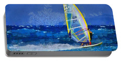 Windsurfing Portable Battery Charger