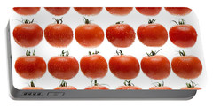 24 Tomatoes Portable Battery Charger by Steve Gadomski