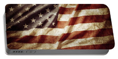 American Flag 53 Portable Battery Charger
