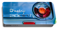 1972 Bmw 2000 Tii Touring Taillight Emblem -0182c Portable Battery Charger