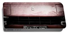 1972 Ferrari 365 Gtb-4a Grille Emblem Portable Battery Charger