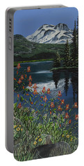 A Peaceful Place Portable Battery Charger