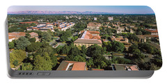 Aerial View Of Stanford University Portable Battery Charger by Panoramic Images