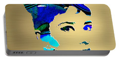 Audrey Hepburn Gold Series Portable Battery Charger