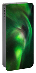 Aurora Borealis Or Northern Lights Portable Battery Charger
