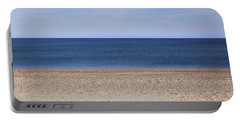 Color Bars Beach Scene Portable Battery Charger
