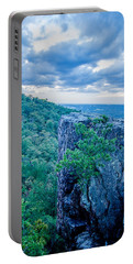 Beautiful Aerial Landscape Views From Crowders Mountain Near Gas Portable Battery Charger