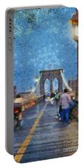 Brooklyn Bridge Promenade Portable Battery Charger