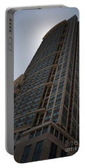 Portable Battery Charger featuring the photograph City Architecture by Miguel Winterpacht