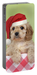 Cockapoo Puppy Dog Portable Battery Charger