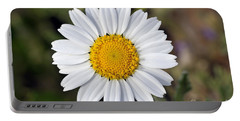 Daisy Flower Portable Battery Charger by George Atsametakis