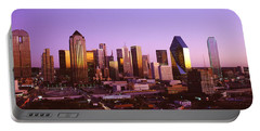 Dallas, Texas, Usa Portable Battery Charger by Panoramic Images