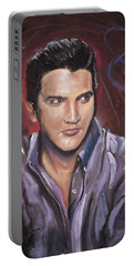 Elvis Portable Battery Charger by Peter Suhocke