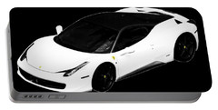 Portable Battery Charger featuring the photograph Ferrari by J Anthony