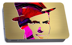 Frank Sinatra Gold Series Portable Battery Charger by Marvin Blaine