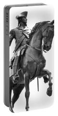 George Washington Statue Boston Ma Portable Battery Charger