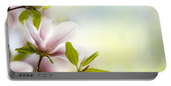 Magnolia Flowers Portable Battery Charger