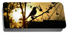 Listen To The Birds Portable Battery Charger