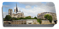 Notre Dame De Paris Portable Battery Charger