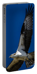 Portable Battery Charger featuring the photograph Osprey In Flight by Dale Powell