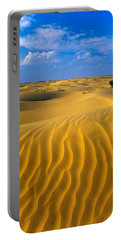 Sand Dunes The Thar Desert, Rajasthan Portable Battery Charger