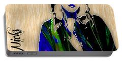Stevie Nicks Portable Battery Charger