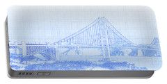 Suspension Bridge Over The Pacific Portable Battery Charger