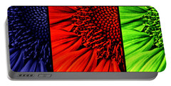 3 Tile Sunflower Colors Portable Battery Charger
