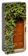Tuscan Door Portable Battery Charger by Brian Jannsen
