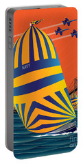Usna Sunset Sail Portable Battery Charger