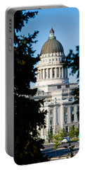Utah State Capitol Building, Salt Lake Portable Battery Charger by Panoramic Images