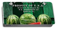 Watermelon Farm Portable Battery Charger