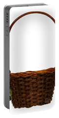 Wicker Basket Number Ten Portable Battery Charger