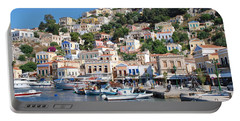 Yialos Harbour Symi Portable Battery Charger