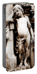 Pere-lachais Cemetery In Paris France Portable Battery Charger by Richard Rosenshein