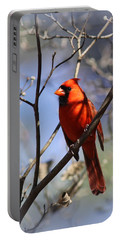 3477-006- Northern Cardinal Portable Battery Charger