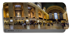 360 Panorama Of Grand Central Terminal Portable Battery Charger by David Smith