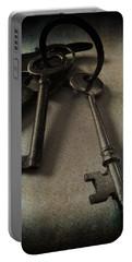 Vintage Keys Vignette Portable Battery Charger