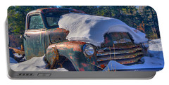 Portable Battery Charger featuring the photograph 3800 Chevy by Alana Ranney