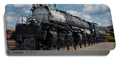 Portable Battery Charger featuring the photograph 4-8-8-4 Big Boy Locomotive by Gary Keesler