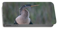 Anhinga Portable Battery Charger by Mark Newman
