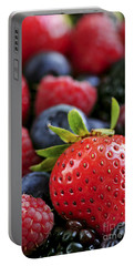 Assorted Fresh Berries Portable Battery Charger