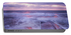 Ballyconnigar Strand At Dawn Portable Battery Charger