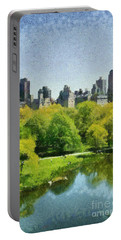 Central Park In New York Portable Battery Charger
